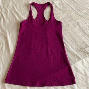 Lululemon Cool Racerback CRB, purple, size 6